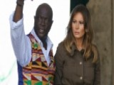 Melania Trump Tours Historic Sites In Ghana