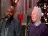 'American Idol' Alums Ruben Studdard And Clay Aiken Reunite To Perform A Christmas Classic