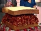 'Fox & Friends' Celebrates National Bacon Day By Making A Bacon Jerky Sandwich With The Founder Of Super Snack Time