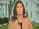 Sarah Sanders On Border Funding Fight: The First Duty Of The President And Congress Is To Protect The American People