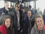 46 Students Stuck On Bus For 14 Hours During Snow Storm