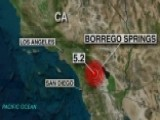 5.2 Magnitude Earthquake Strikes East Of Los Angeles