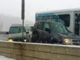 61 Car Pileup Caught On Camera