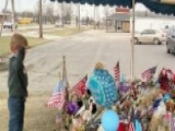 6-year-old Salutes Fallen Deputy's Memorial