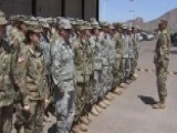 60 Arizona Guardsmen Arrive At The Mexican Border