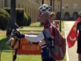 71 Year Old Marine Finishes Cross Country Journey For Charity