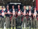 7 Oklahoma Firefighters Welcome Babies Months Apart