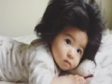 7-month Old Baby With Crazy Head Of Hair Goes Viral