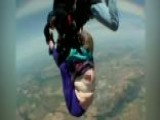 80-year-old Grandmother Slips Out Of Harness While Skydiving