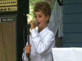 8-year-old's Free Neighborhood Concert Goes Viral