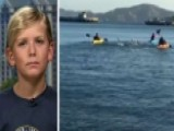 9-year-old Becomes Youngest To Swim To Alcatraz And Back