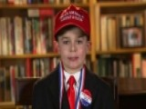 9-year-old Trump Fan Makes Case For President's Policies