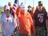 99-year-old Bataan Survivor Walks To Honor Those Who Fell