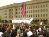 9 11 Observance Ceremony Held At Pentagon Memorial