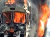 Around The World: Mob Torches Truck In India