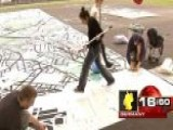 Around The World: Artists Complete 'walkable' Map In Berlin