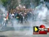 Around The World: Protests Turn Violent In Bolivia