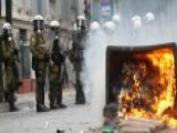 Angry Protesters Clash With Police In Greece