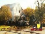 Across America: Crash Sends Trucks Into Ohio Home