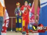 Around The World: Dozens Compete Mexico's Clown Olympics