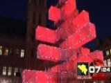 Around The World: Brussels' New Electronic Christmas Tree