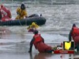 Across America: Dramatic Rescue On Frozen River