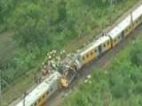 Around The World: Commuter Train Crash Injuries At Least 200