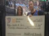 Amazing Half-court Shot Pays For Wife's Medical Bills