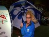Anna Kooiman Puts Gustbuster Umbrella To The Test