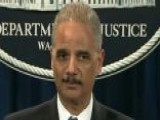 Attorney General Eric Holder To Testify Over AP Probe