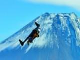 Ain't No Mountain High Enough: Jetman Soars Near Mt. Fuji