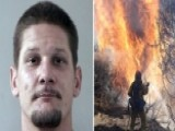 Arson Suspect Arrested As Calif. Wildfire Doubles In Size
