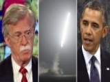 Amb. Bolton Questions Political Timing Of Syria Airstrikes