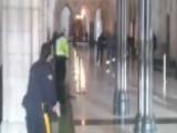 Amateur Video Captures Shooting Inside Ottawa Parliament