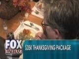 A Thanksgiving Dinner For $35,000