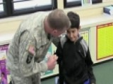 Afghan Boy Visited By Soldier Who Saved Him