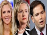 Ann Coulter Sounds Off On Clinton, Rubio White House Bids