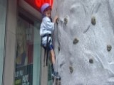 After The Show Show: Climbing The Rock Wall
