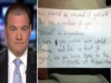 Afghanistan War Veteran Finds Hateful Note On Car