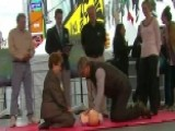 AHA Holds Hands-only CPR Relay In Times Square
