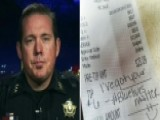 Anonymous Person Pays For Sheriff's Meal At Diner
