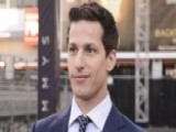 Andy Samberg Rolls Out The Emmy Red Carpet