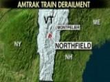 Amtrak Confirms Passenger Train Derailment In Vermont