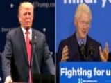 Are Trump's Attacks On Bill Clinton Fair Game?