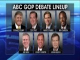 ABC GOP Debate Lineup Announced, Carly Fiorina Out