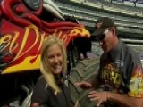Anna Goes To Monster Jam In MetLife Stadium