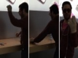 Angry Customer Goes On Smashing Rampage Through Apple Store