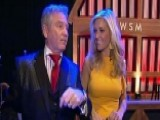 Ainsley Earhardt Visits The Grand Ole Opry