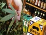 As Legal Weed Sales Rise, Beer Sales Go Up In Smoke