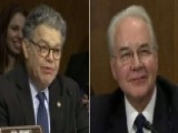 Al Franken Spars With Tom Price Over Tobacco Stock Holdings